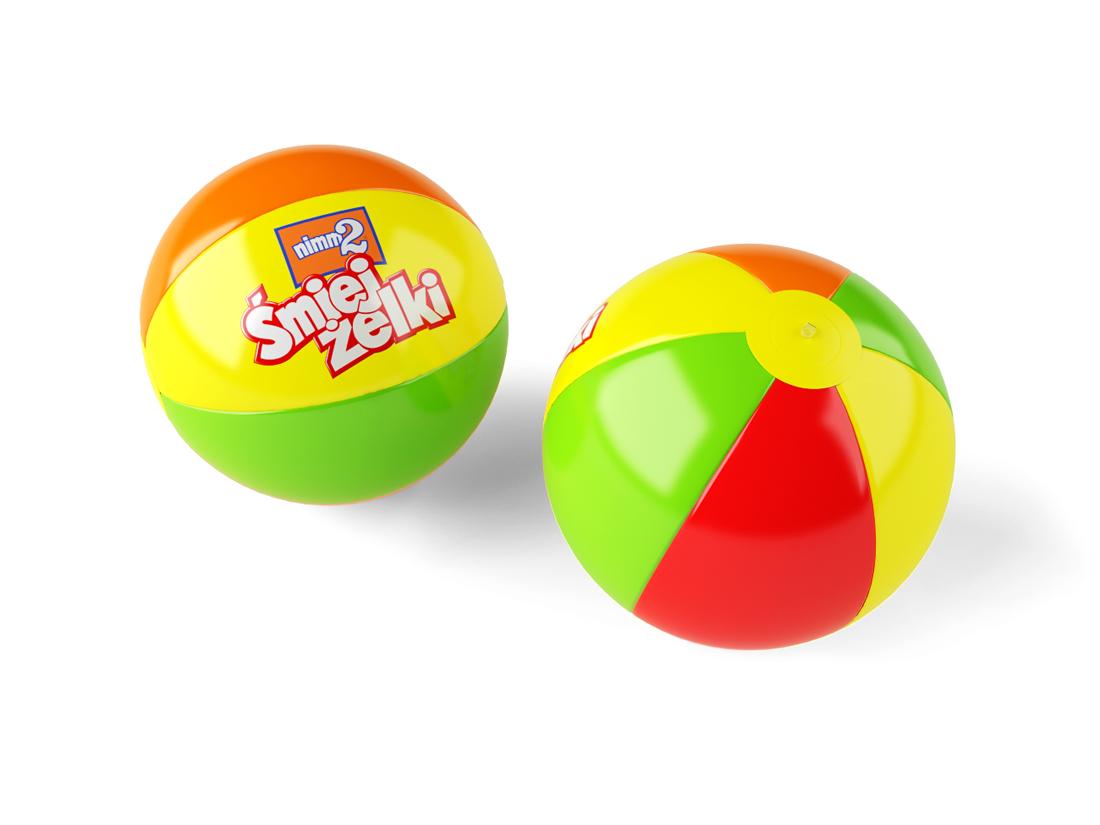 Piłka plażowa - gadżety plażowe