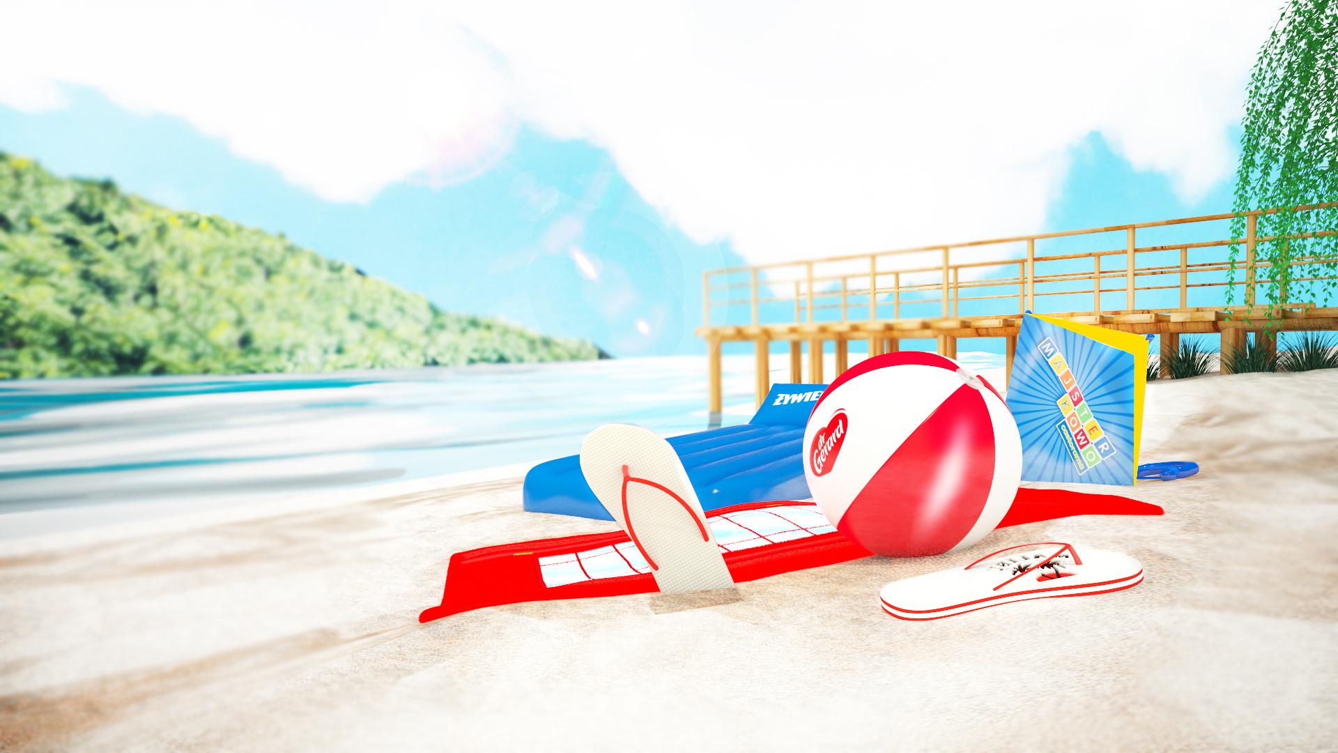 Gadżety plażowe