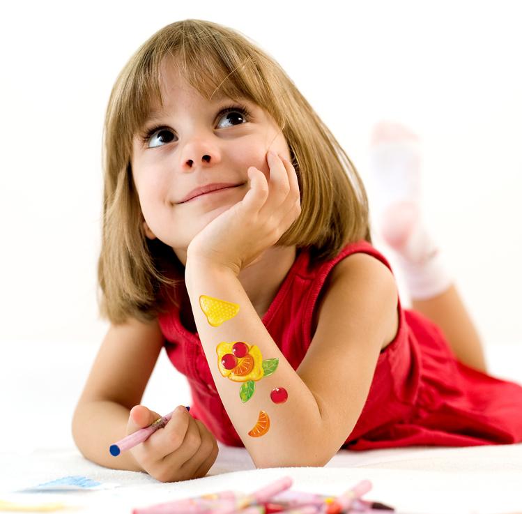 Tatuaże dla dzieci - gadżety dzielny pacjent
