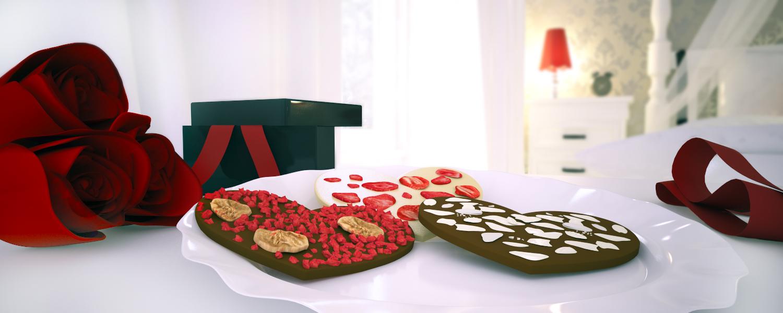 czekolada reklamowa - prezenty na walentynki