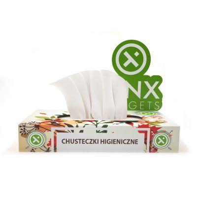 Reklamowe chusteczki higieniczne- Gadżet medyczny Nr1